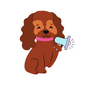 Coach Pup Sticker