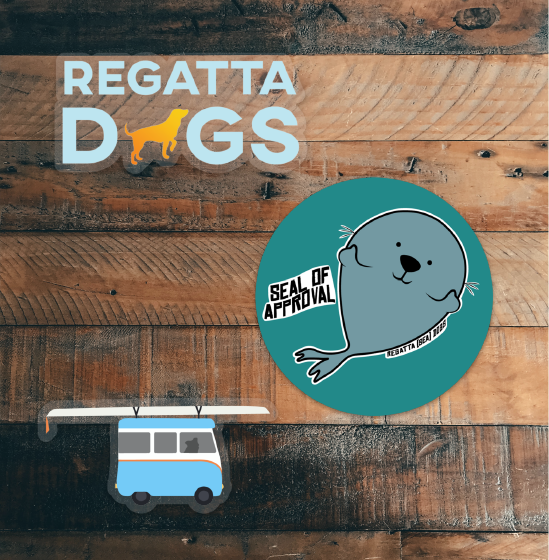 Regatta Dogs Original Sticker Multipack
