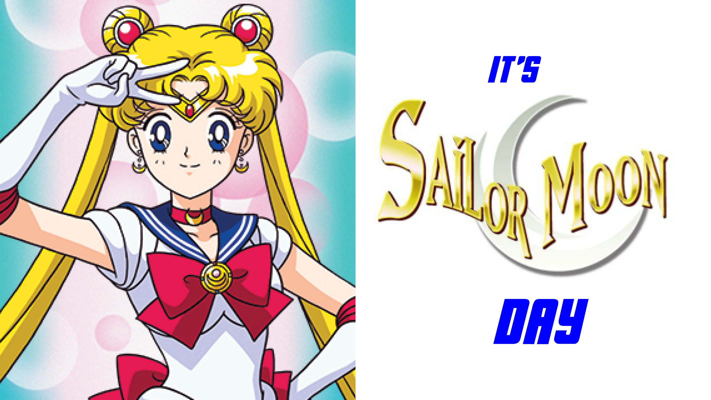 SAILOR MOON DAY