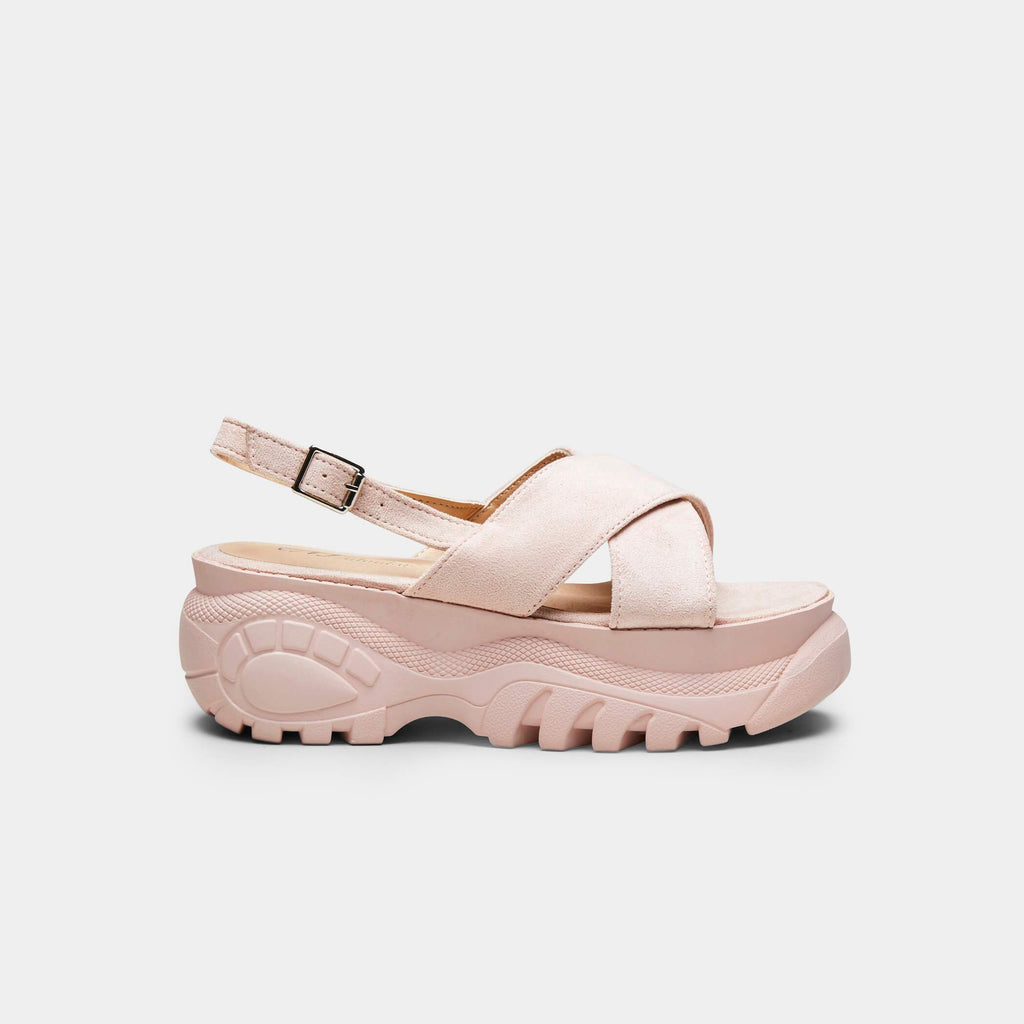 Baby Pink METIS Pink Bubble Sandals 1