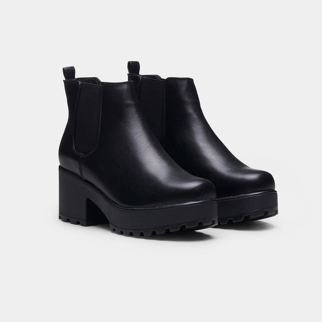 Black Kai Chunky Chelsea Boots Size 11 2 view 2