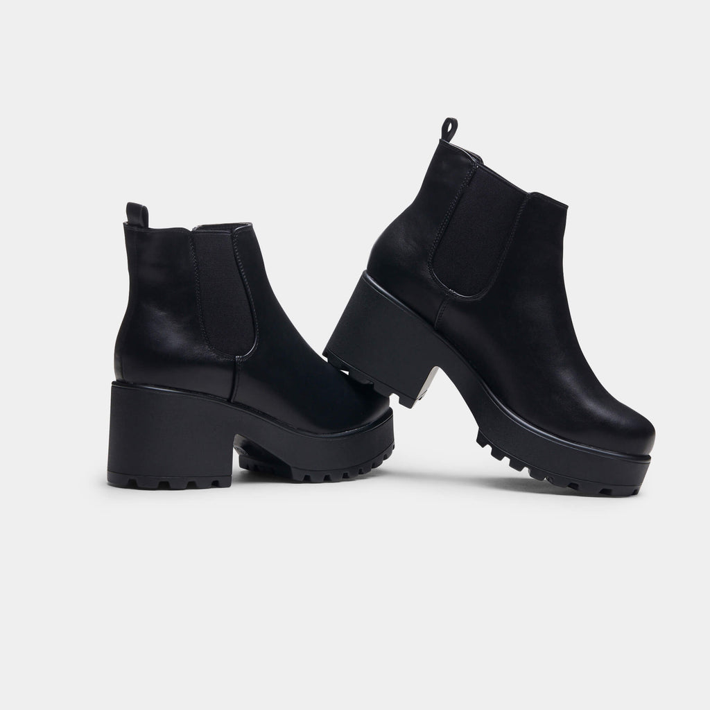 Black Kai Chunky Chelsea Boots Size 11 3 view 3