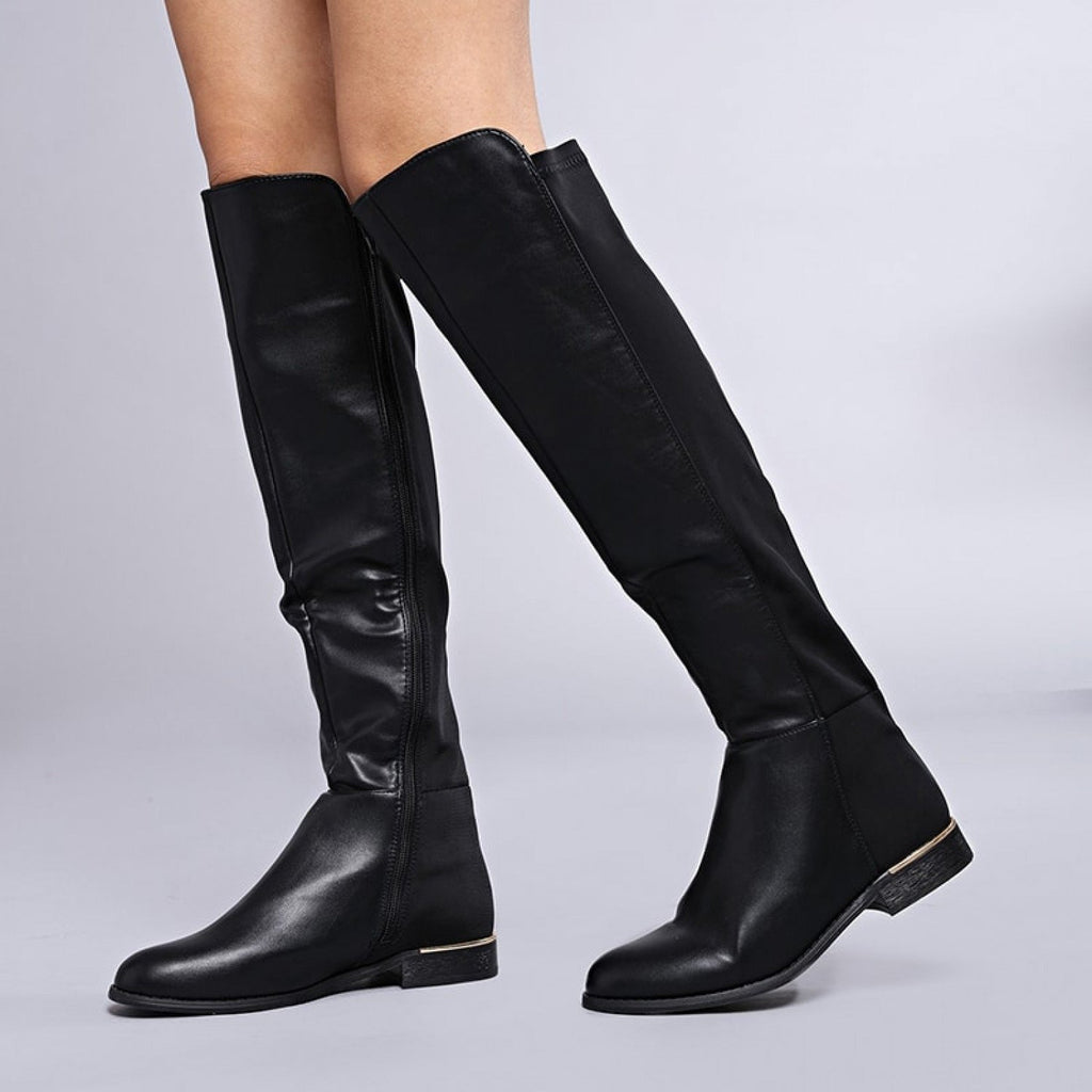 SIA Flat Knee High Boots view main view