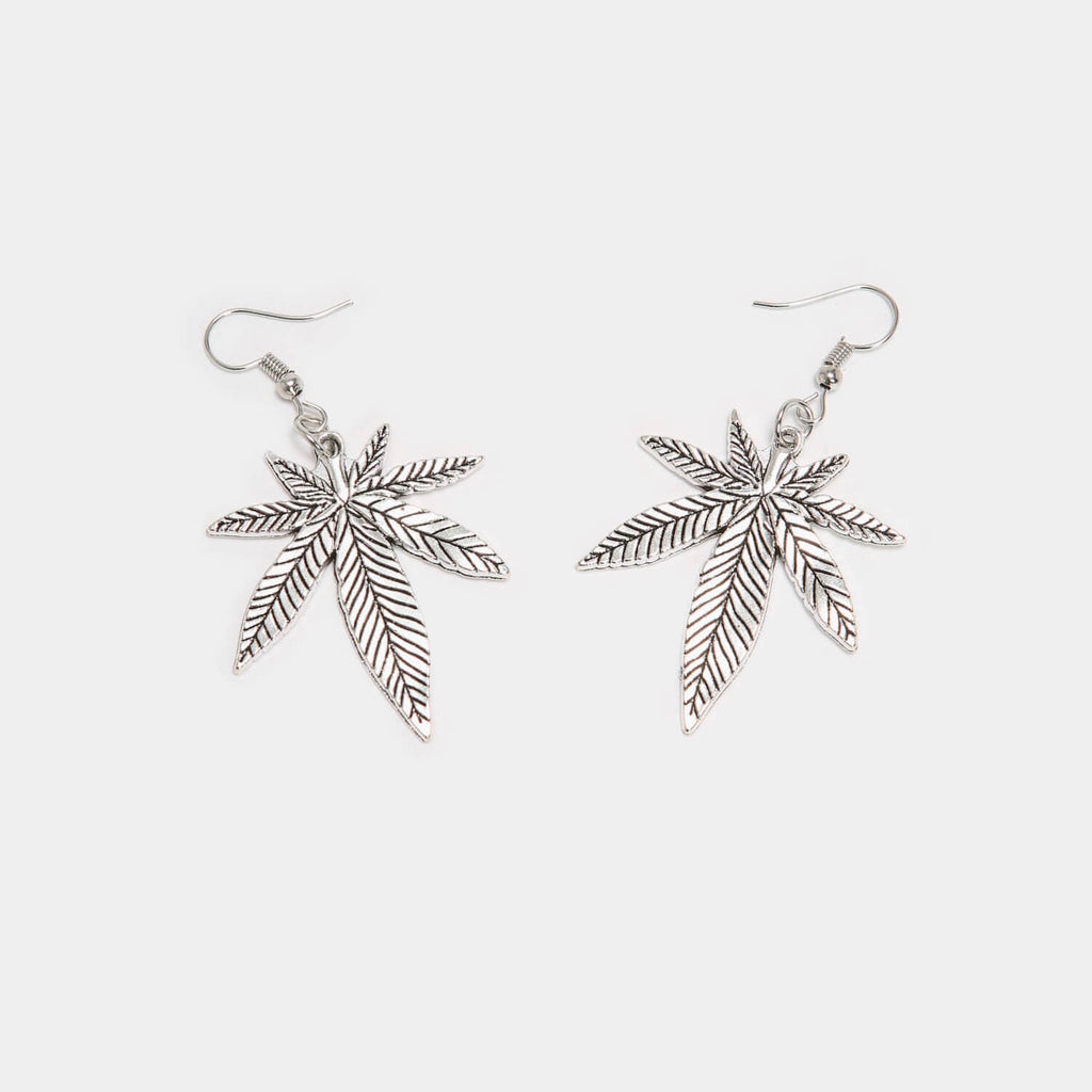 ZODY Footwear Blazed Leaf Earrings