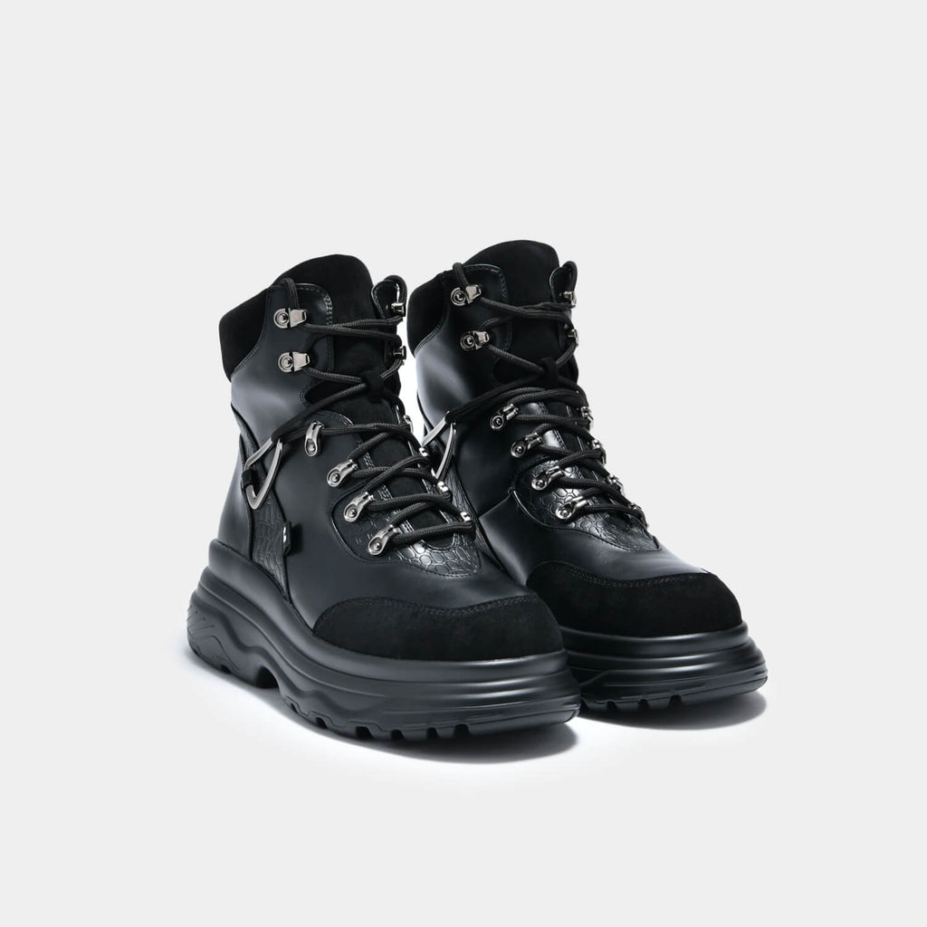 KOI Footwear Bolt Men's Wire Boots Vegan Mens Hiking Boots view 2