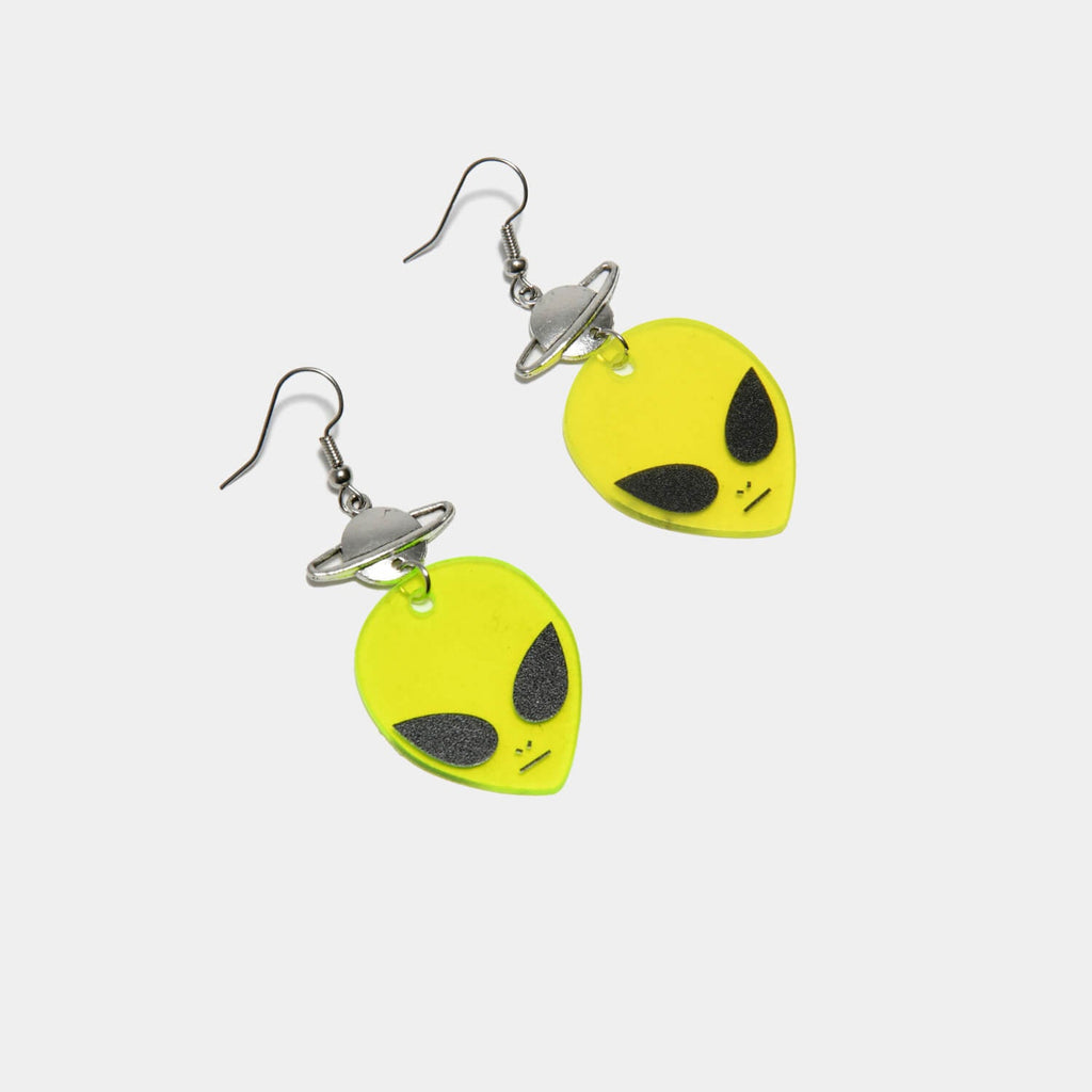 ZODY Footwear Cosmic Galaxy Alien Earrings