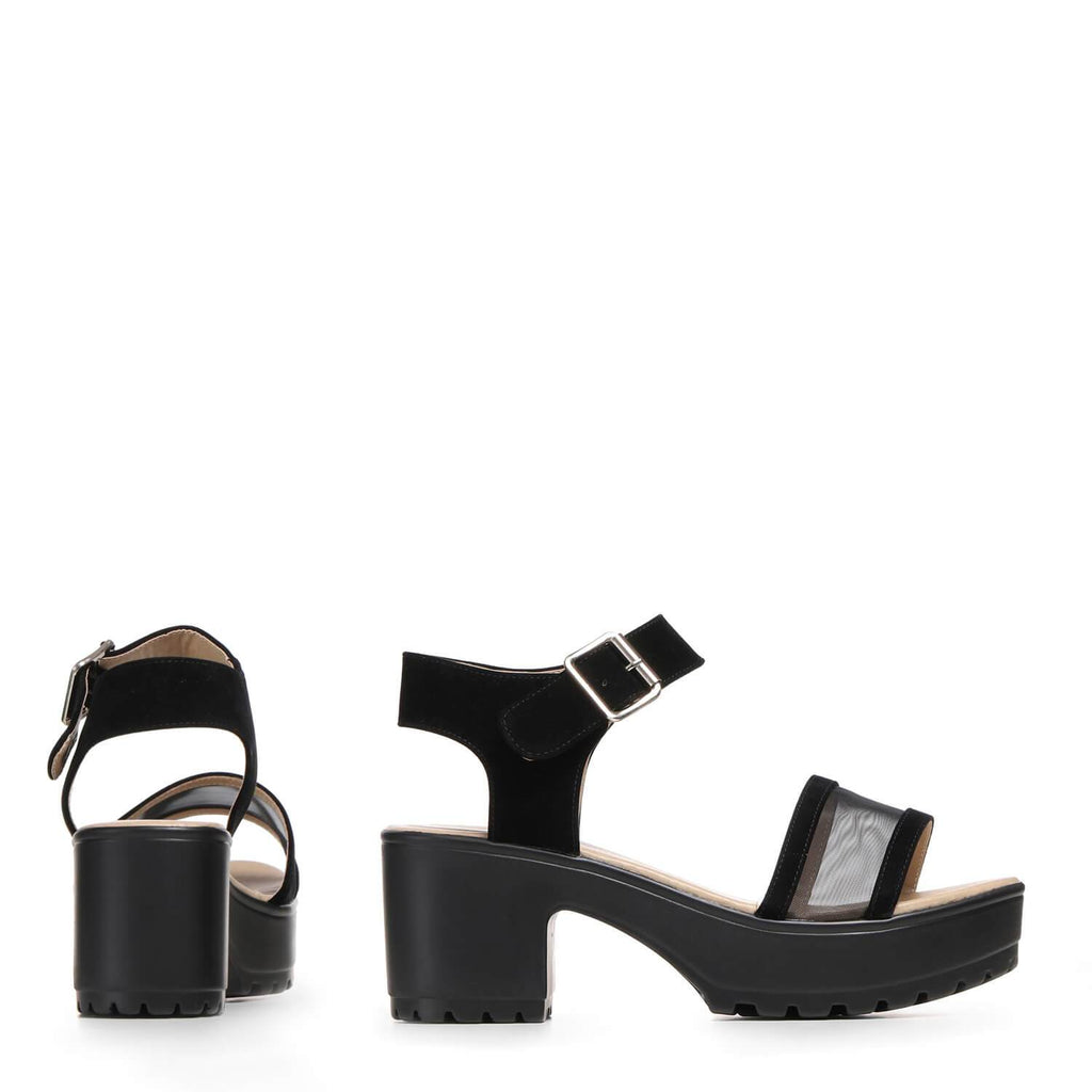 SAAM Mesh Chunky Sandals view 5