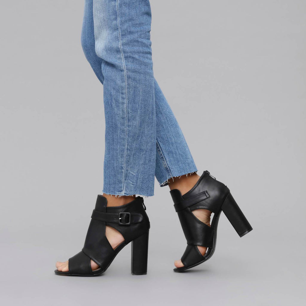 NALA Double Cutout Shoes