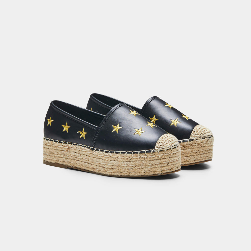 ZODY Footwear ALCOR Star Espadrilles Vegan view 3