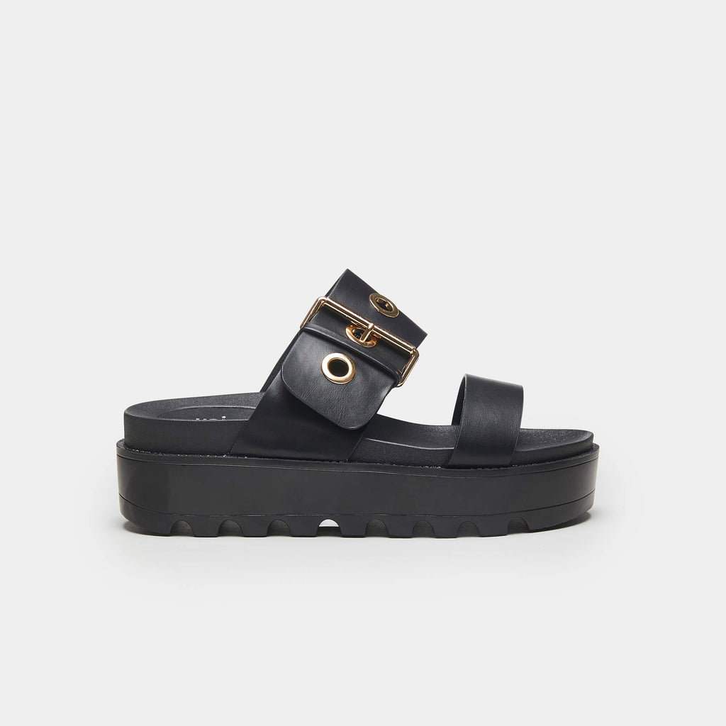 KOI Footwear GUMMI Chunky Flatform Sandals Vegan Flatform Sandals view main view