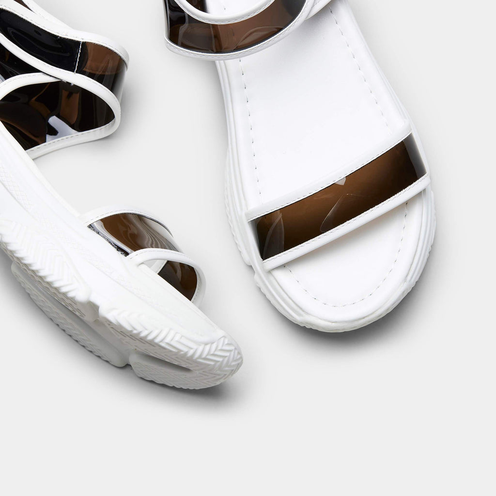 SUGAR Chunky Perspex Sandals view 4