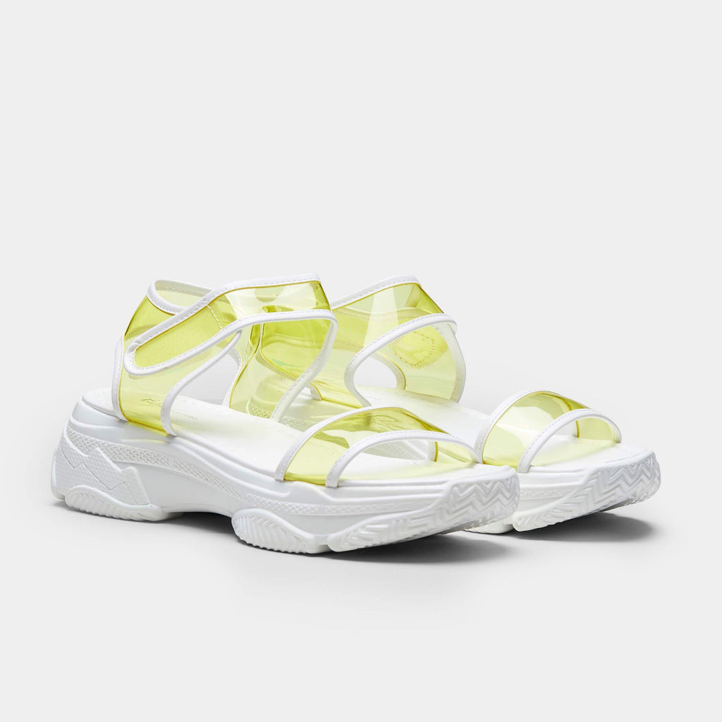 SUGAR Chunky Neon Perspex Sandals