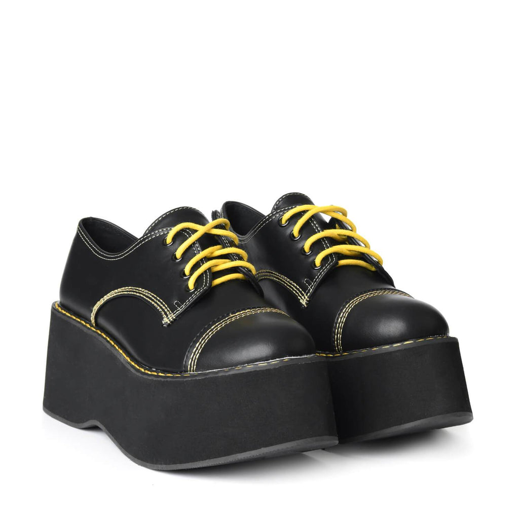 SAWA Mega Platform Lace Up Shoes view 3