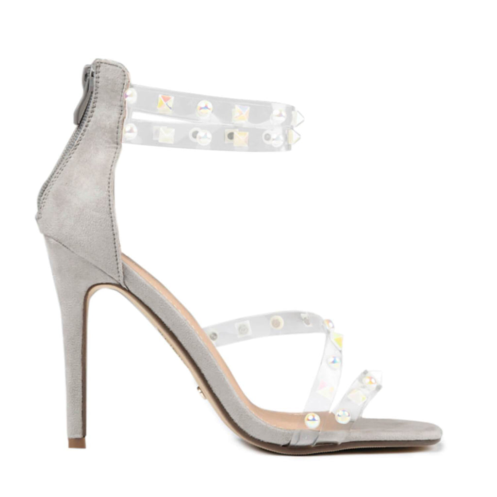LING Perspex Studded Strap Sandal view 2