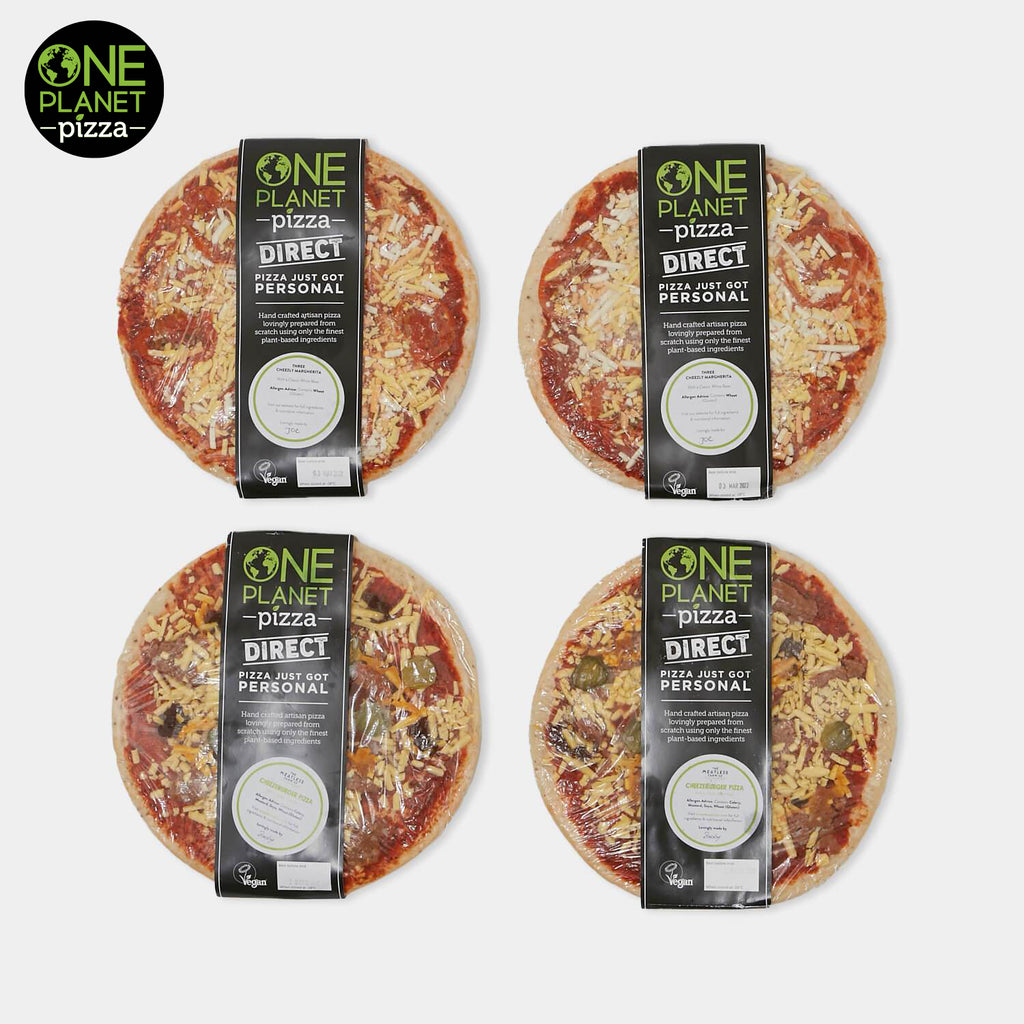 One Planet Vegan Frozen Pizza Bundle 2 (UK Delivery Only)