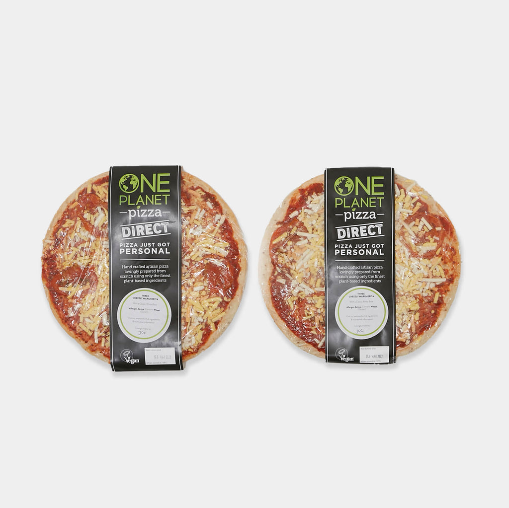 One Planet Vegan Frozen Pizza Bundle 2 (UK Delivery Only) view 2