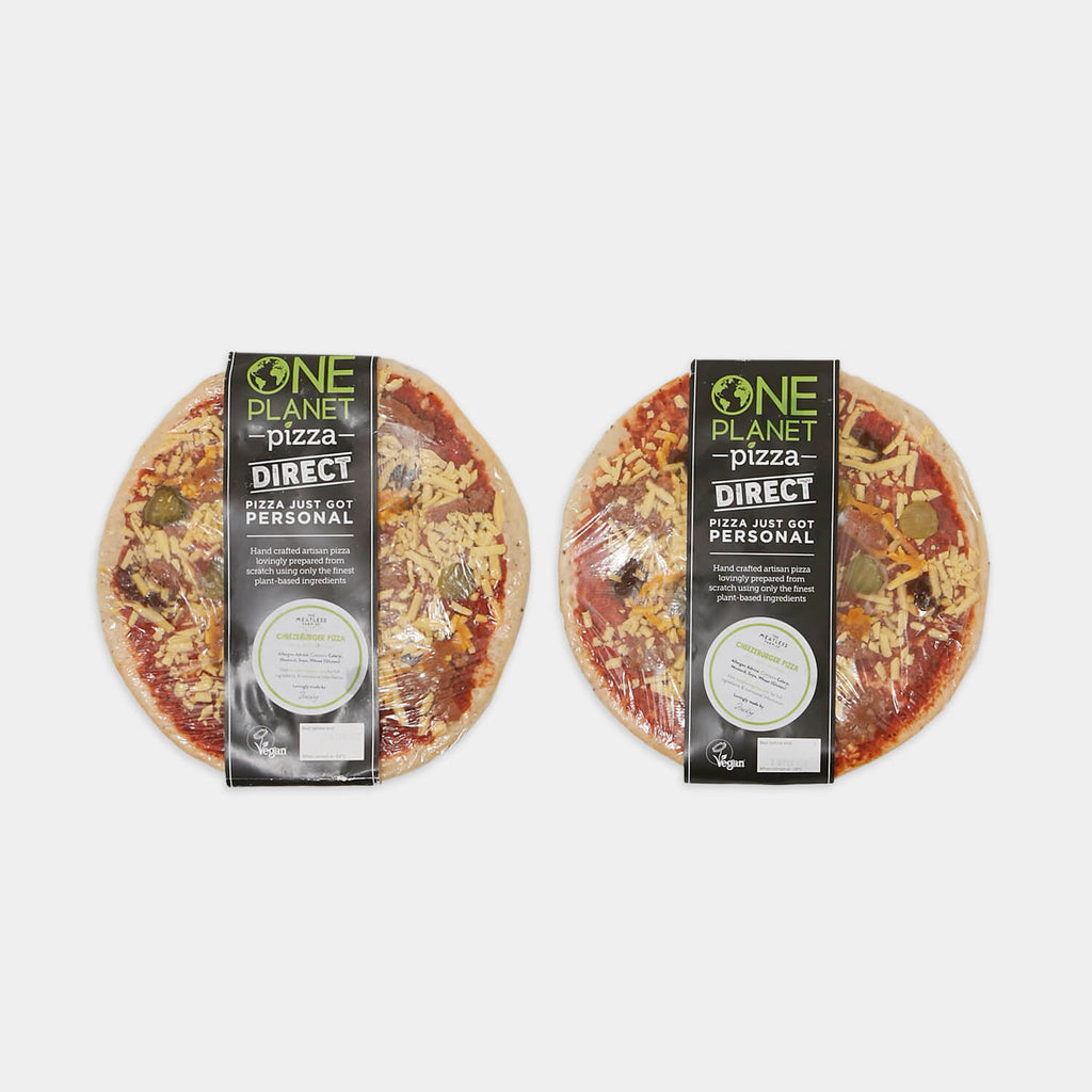 One Planet Vegan Frozen Pizza Bundle 2 (UK Delivery Only) view 3