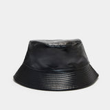 Traitor Faux Leather Bucket Hat
