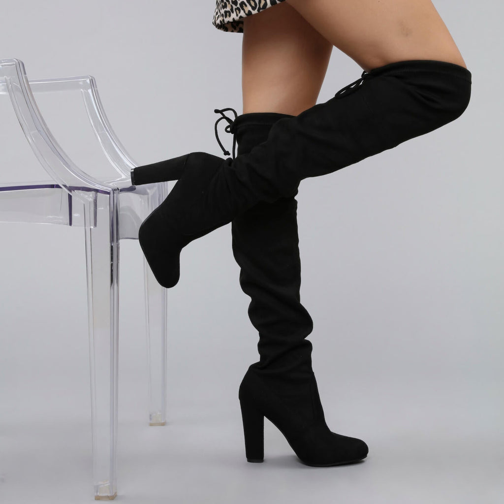 CAO Adjustable Over the Knee Boots