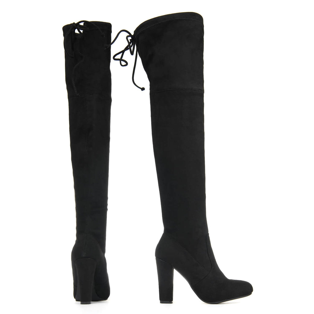 CAO Adjustable Over the Knee Boots view 3