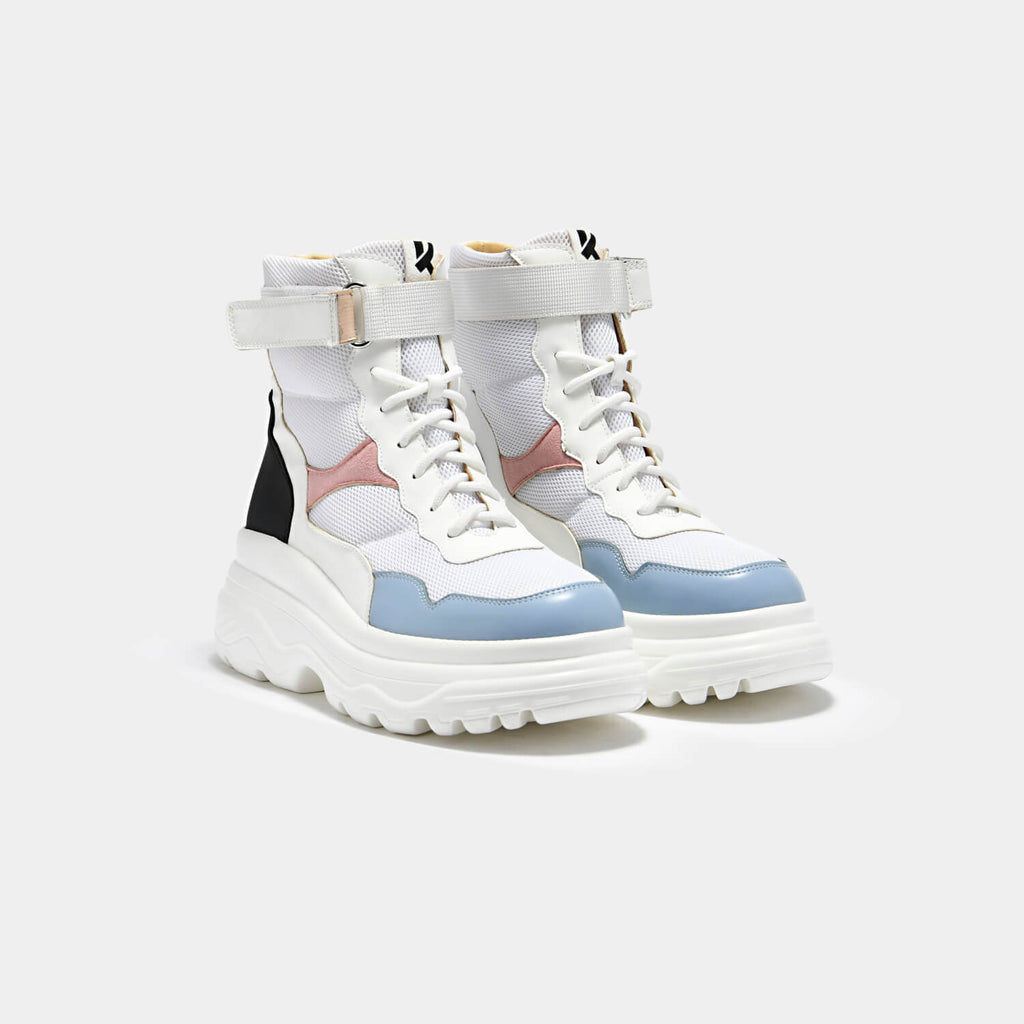 KOI Footwear Apache High Top Boots Vegan Chunky Boots view 2