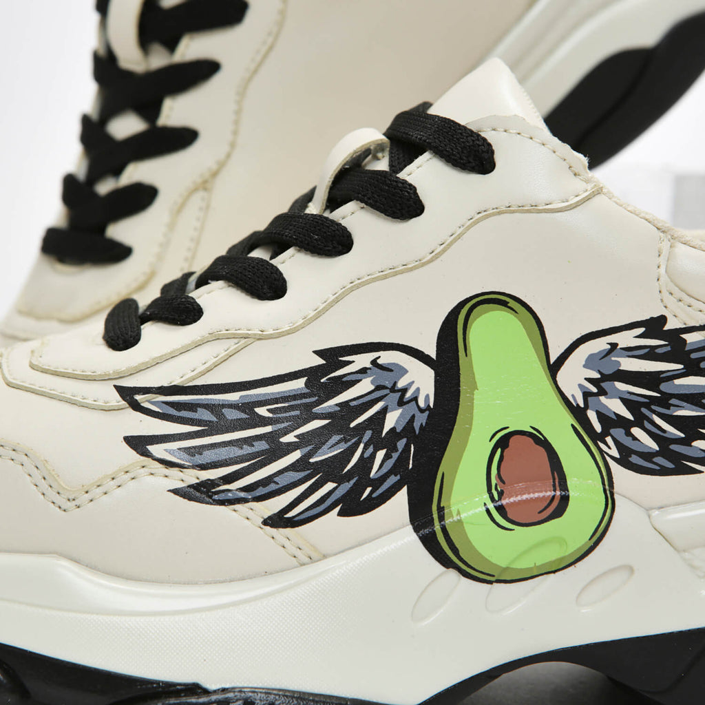 Dreamhorserecords Footwear Avo Wings Trainers Vegan Chunky Trainers view 3