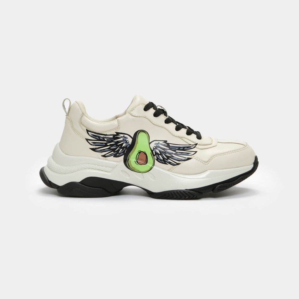 Dreamhorserecords Footwear Avo Wings Trainers Vegan Chunky Trainers view 2