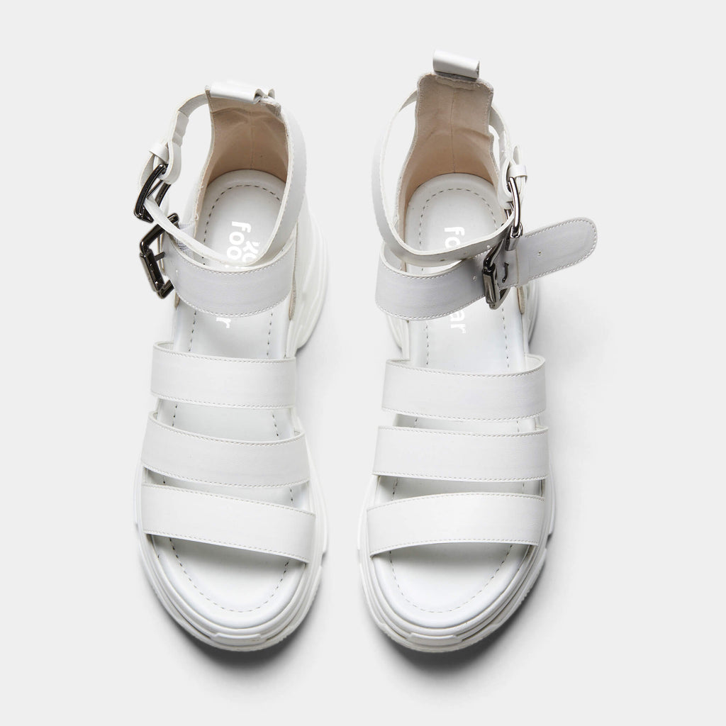 KOI Footwear OSIRIS Classic White Trainer Sandals Vegan Chunky Sandals view 4