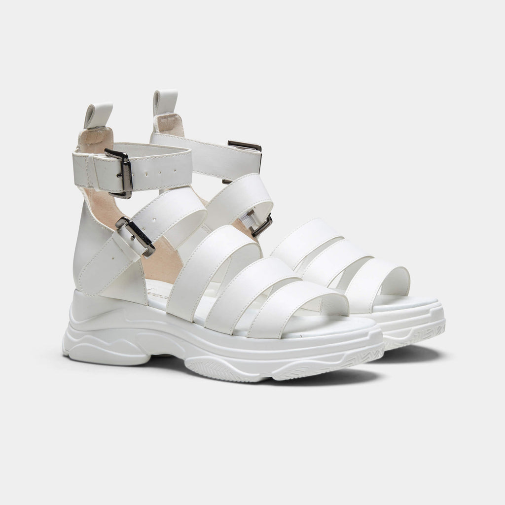 KOI Footwear OSIRIS Classic White Trainer Sandals Vegan Chunky Sandals view 3
