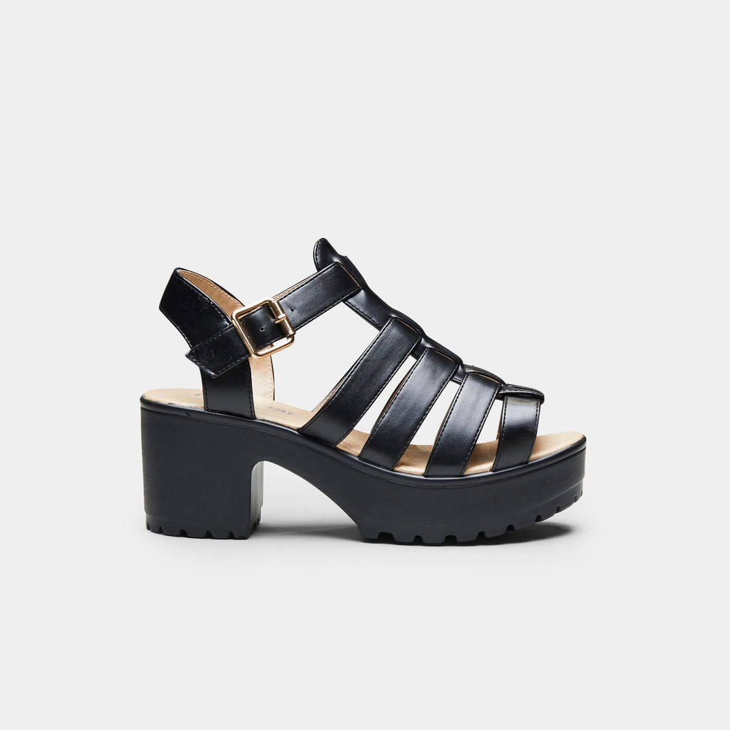 SII Strappy Cleated Sandals