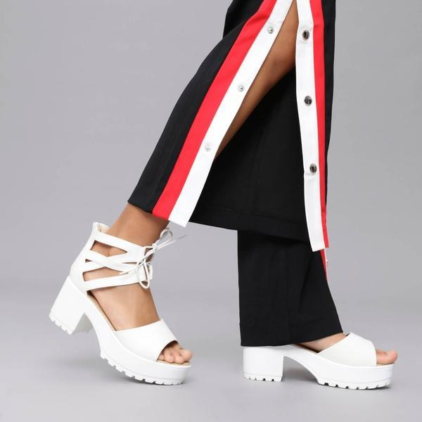 LAZA Cutout Sandals view 2