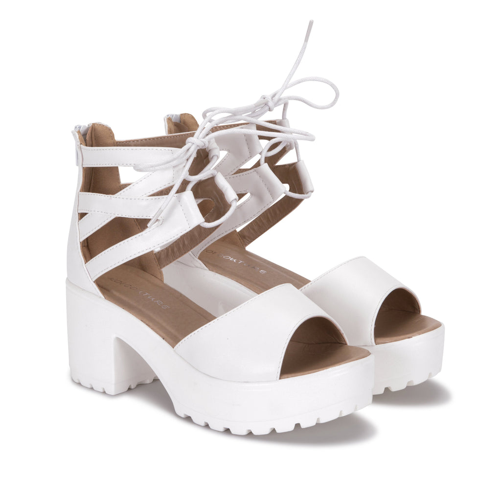 LAZA Cutout Sandals view main view