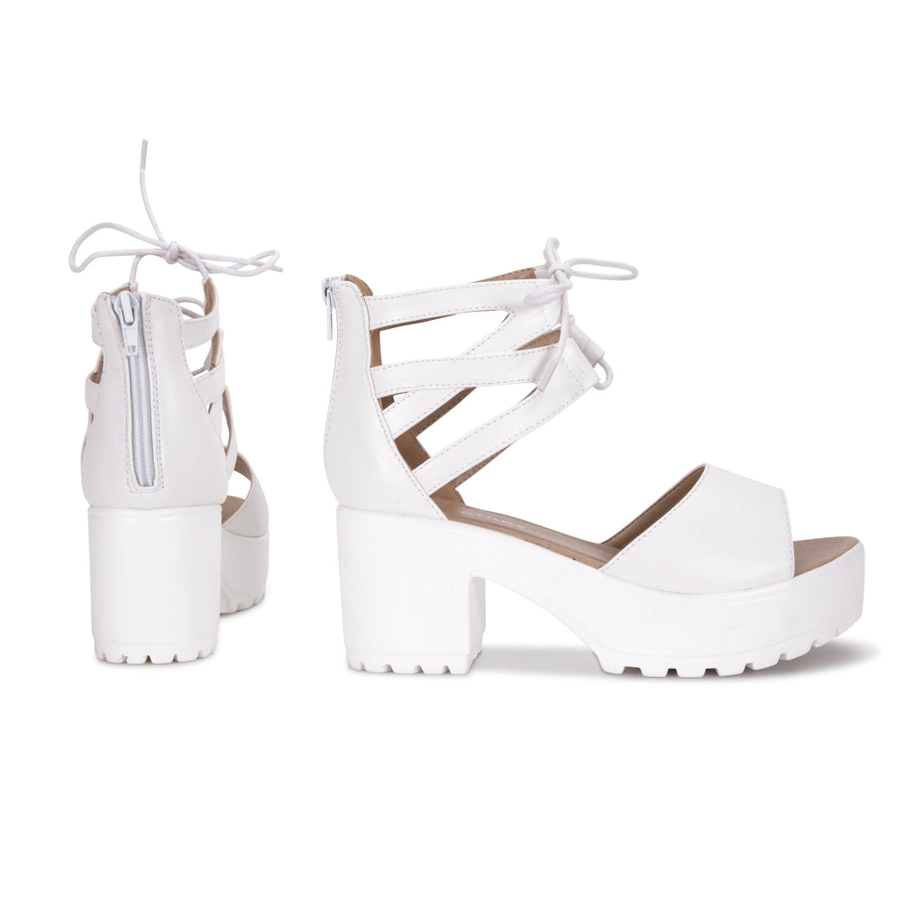 LAZA Cutout Sandals view 4