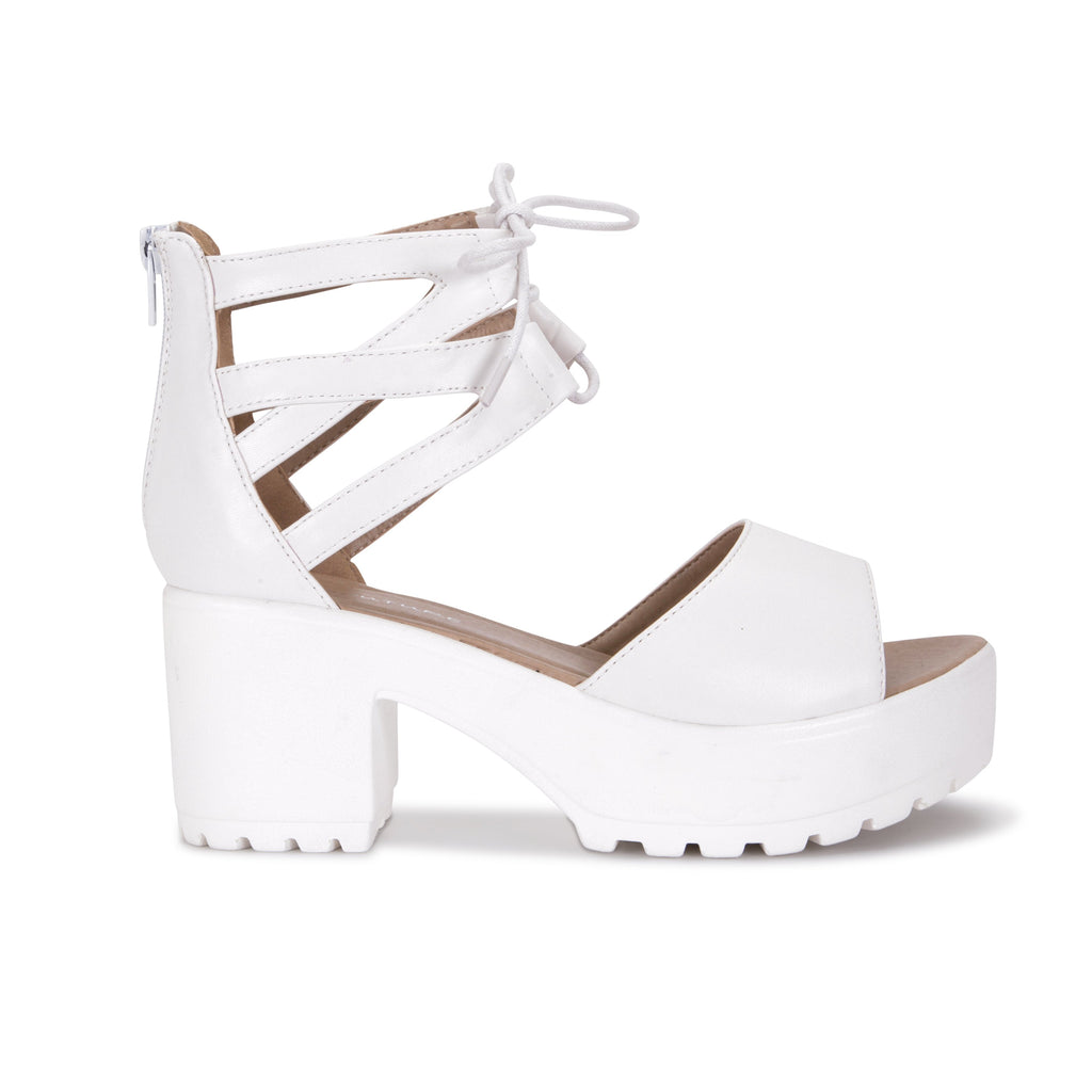 LAZA Cutout Sandals view 3