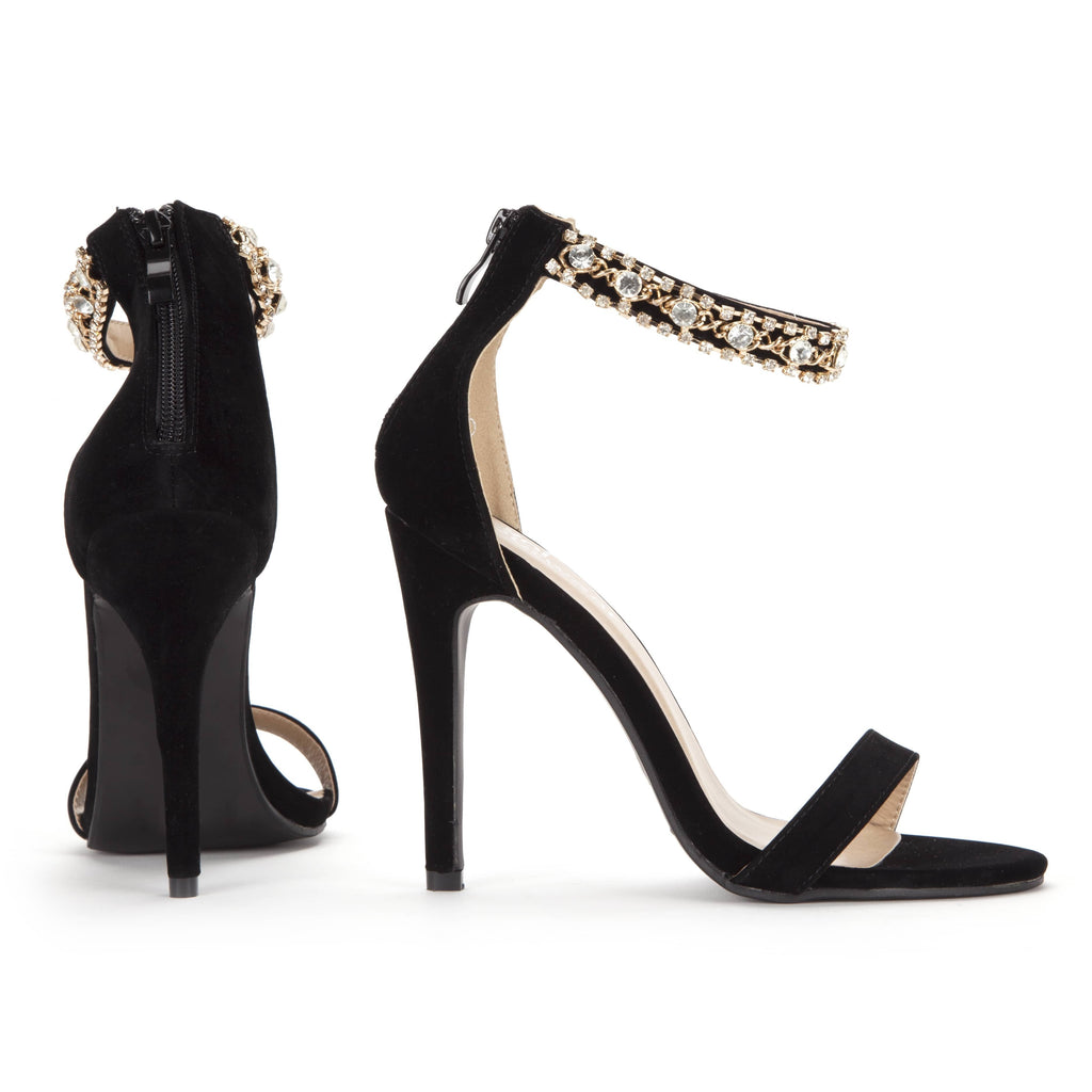 RUH Jewel Strap Heels view 4