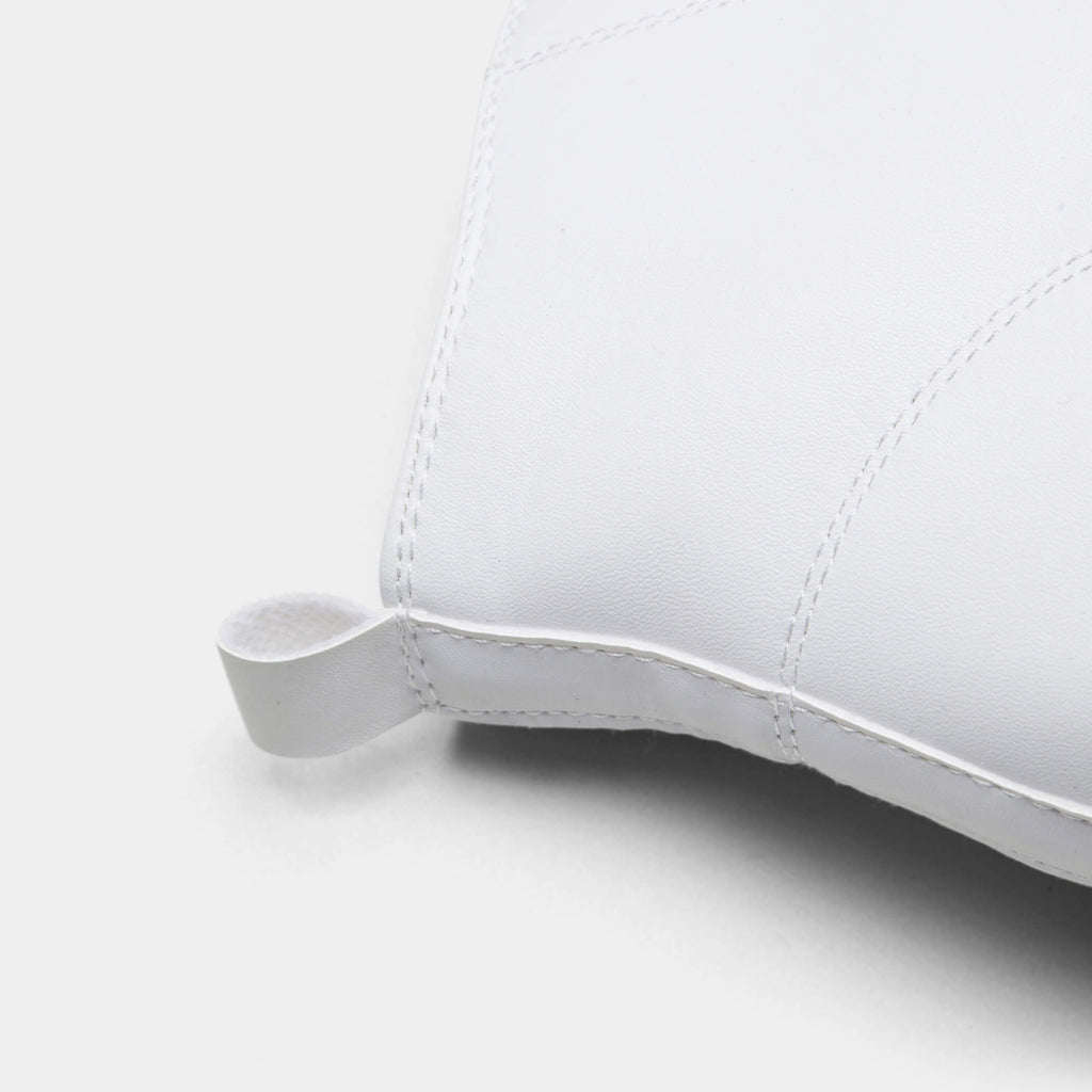 White PRETA High Top Sleek Trainers 5 view 5
