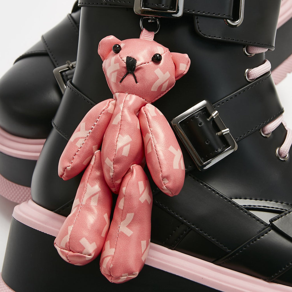 ZODY Footwear Friend From My Dreams Teddy Bear Boots Vegan Platform Boots view 2