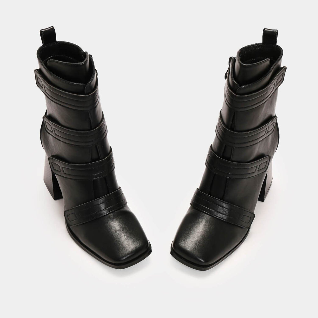 Dreamhorserecords Footwear Himiko Battle Heeled Boots Vegan High Heel Boots view 7