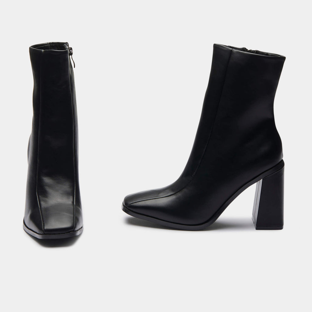 NAMI Square Toe Ankle Boot view 4