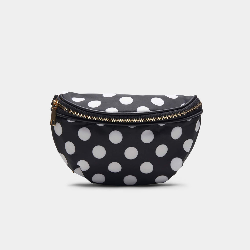Black Itsy Bitsy Black Polka Dot Bag 1