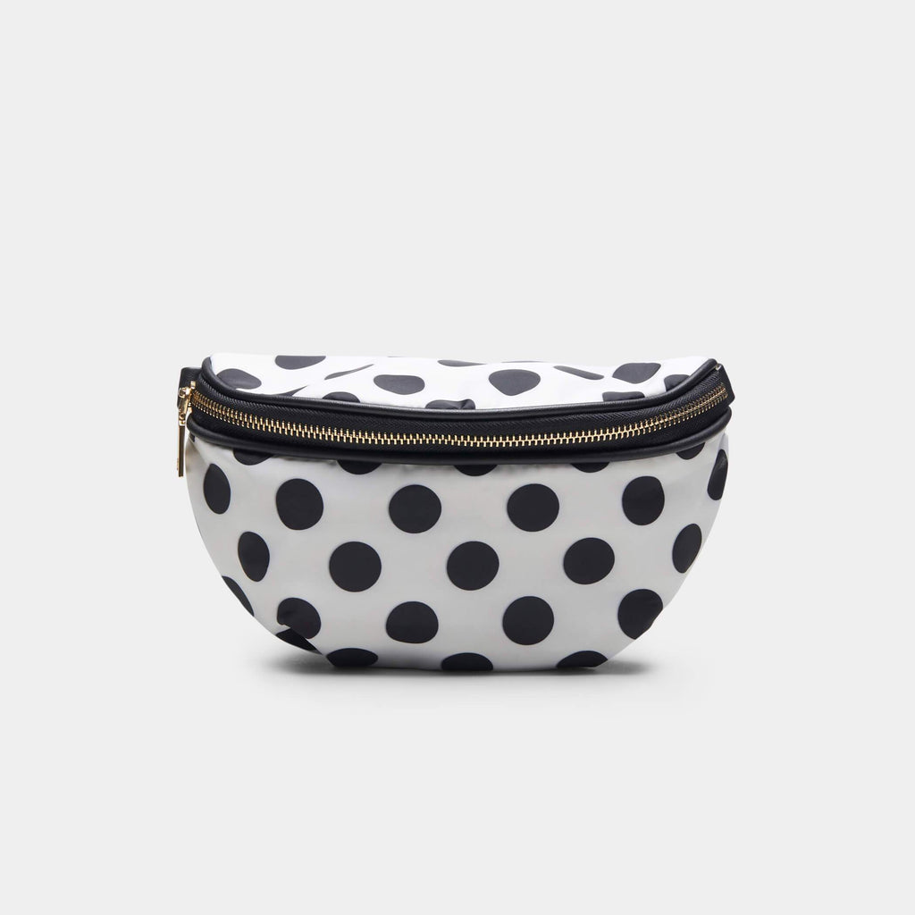 White Itsy Bitsy White Polka Dot Bag 1