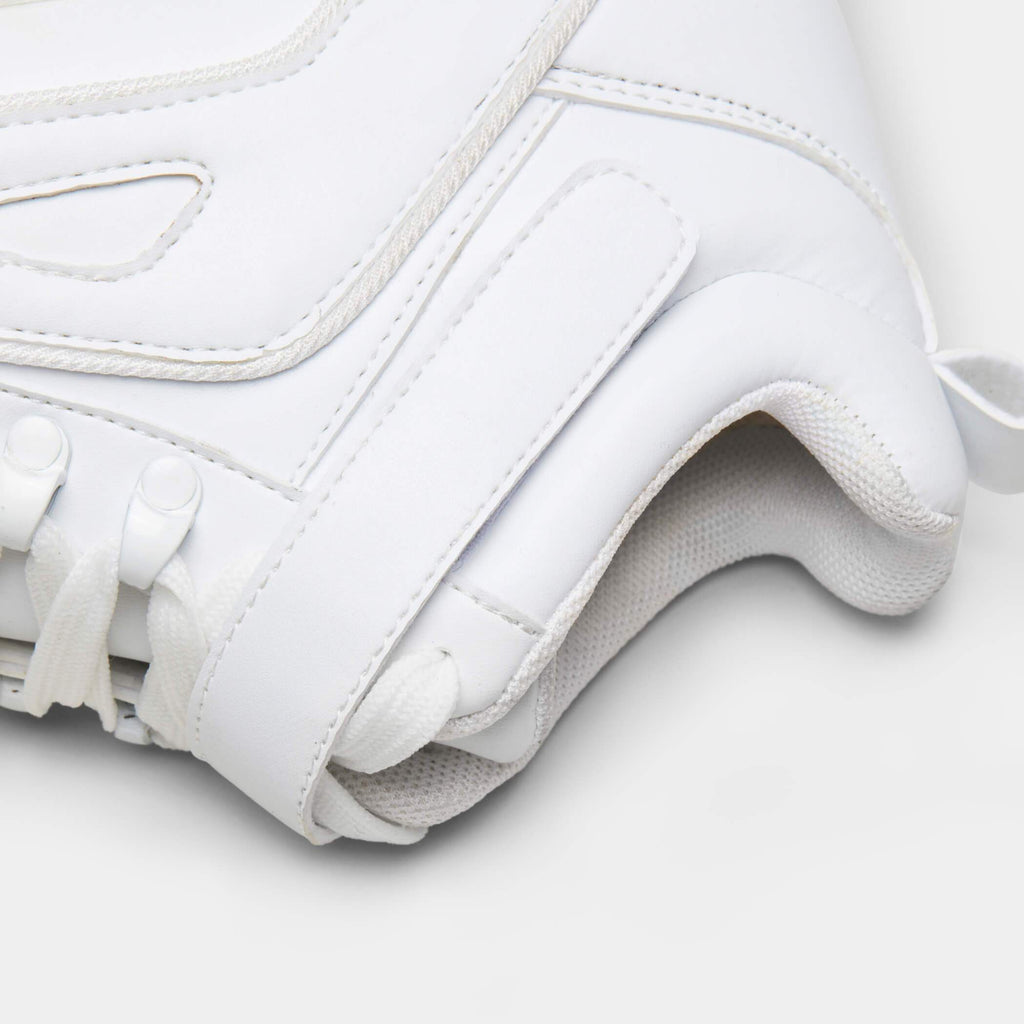 White MITZU Chunky Bubble High Top Trainers 5 view 5