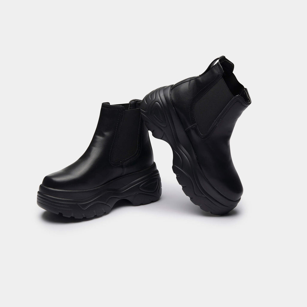 KOI Footwear Kaito Bubble Chelsea Boots Vegan Chelsea Boots view 3