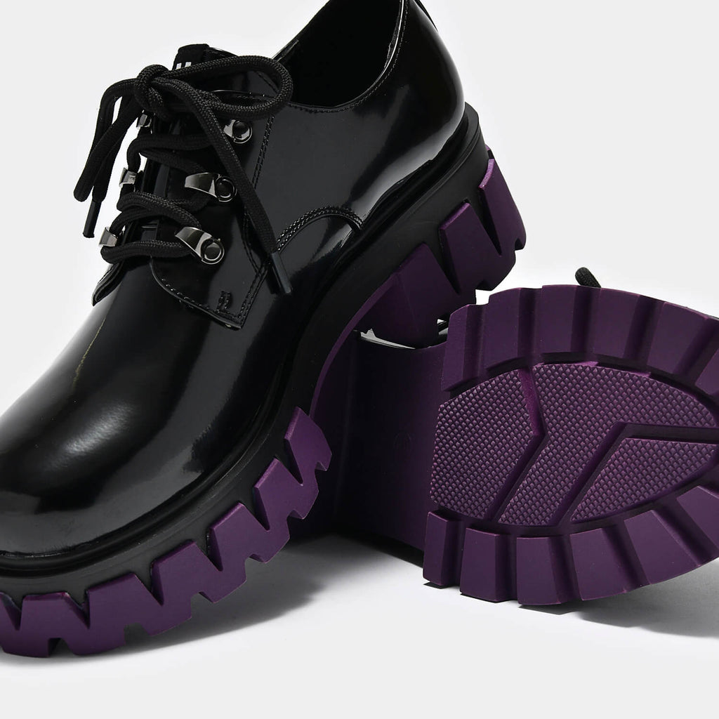 ZODY Footwear Mensis Cyber Shoes Vegan Chunky Platform Shoes view 6