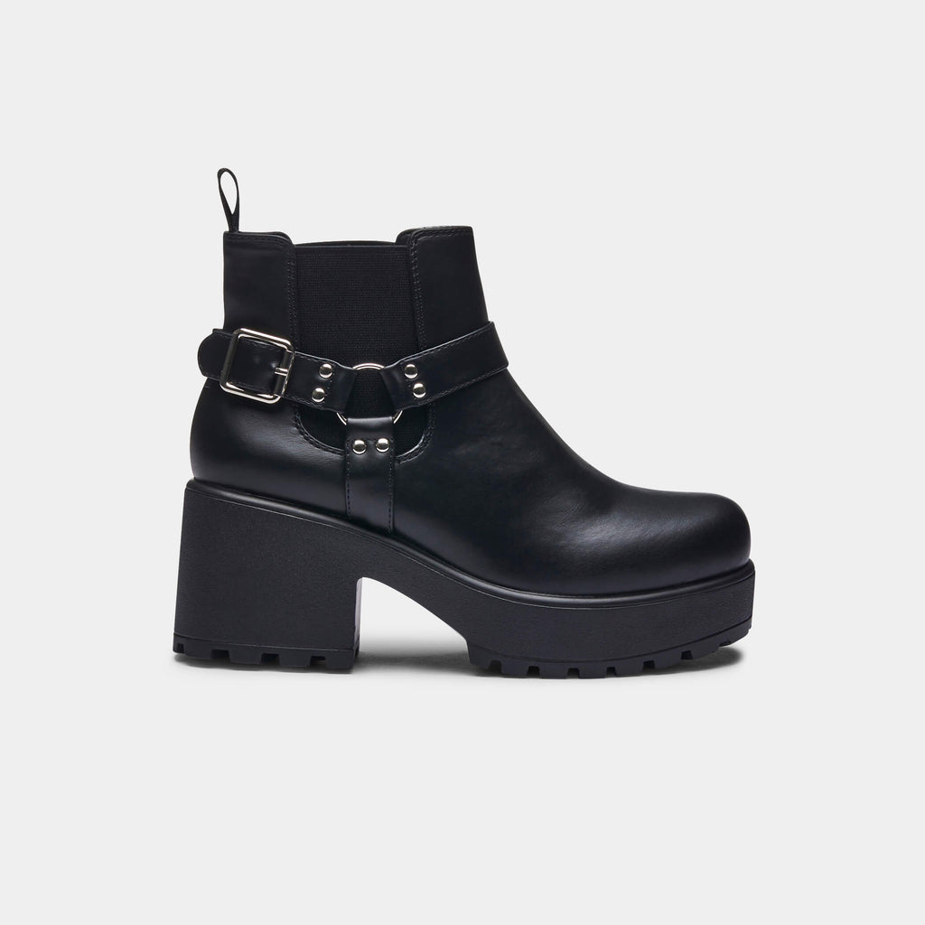 ZODY Footwear Axel Buckle Boots Vegan view main view