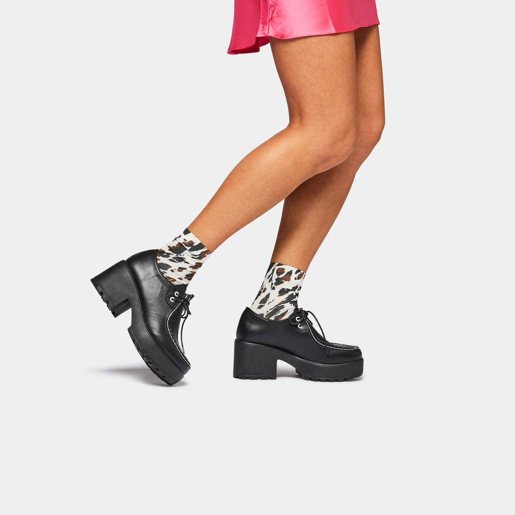 KOI Footwear Amii Chunky Shoe Vegan Chunky Platform Shoes