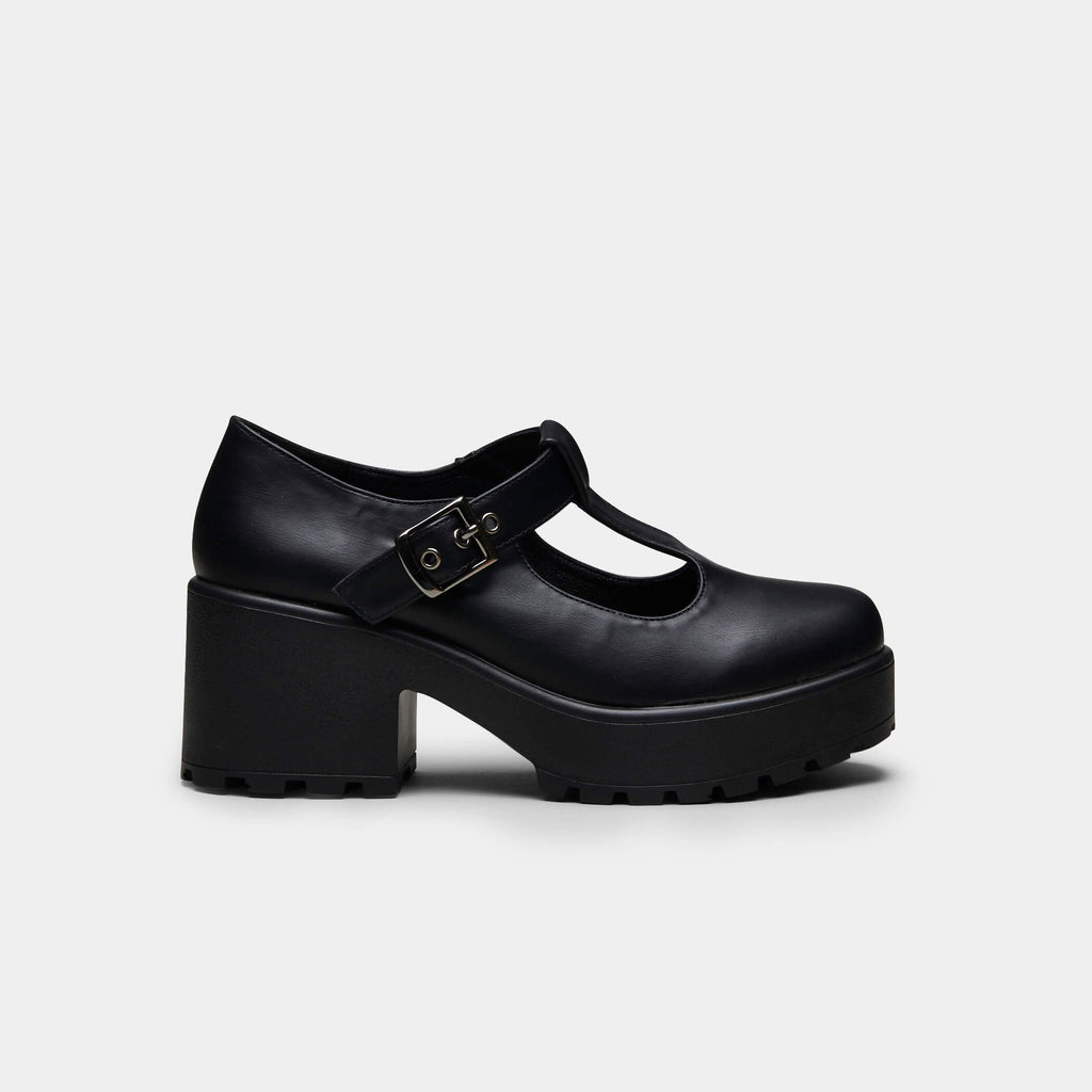 KOI Footwear SAI Mary Janes Vegan Chunky Platform Shoes