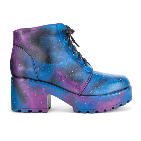 Hand Painted Exclusive Galaxy Boots