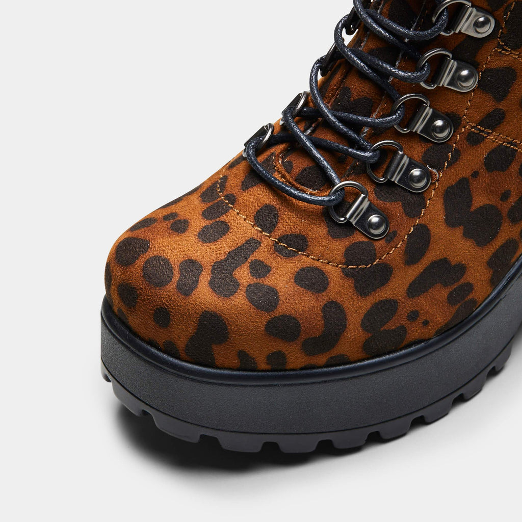 BOA Leopard Hiking Boots view 4