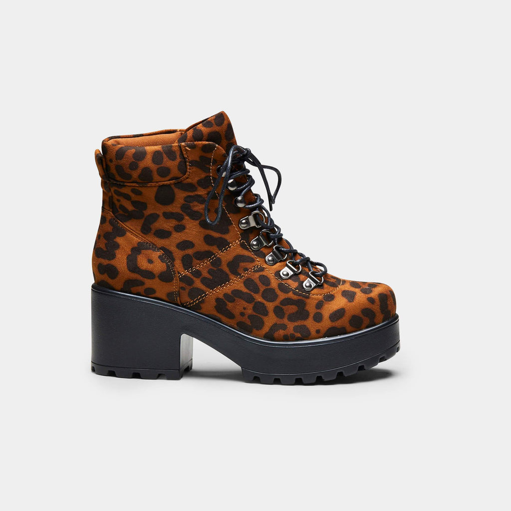 BOA Leopard Hiking Boots